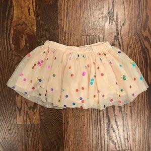 Stella McCartney Kids Bottoms - Stella McCartney Kids Tulle & Metallic Skirt
